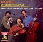 MOZART - Dumay - Divertimento pour trio à cordes en mi bémol majeur K.56