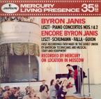 LISZT - Janis - Concerto pour piano et orchestre n°1 en mi bémol majeur