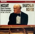 MOZART - Richter - Sonate pour piano n°4 en mi bémol majeur K.282 (K6.18
