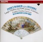 HAENDEL - Baker - La Lucrezia, cantate HWV.145 (aussi 'Oh numi eterni')