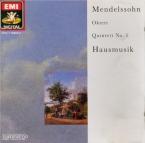 MENDELSSOHN-BARTHOLDY - Hausmusik - Quintette à cordes n°1 en la majeur