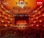 VERDI - Muti - Messa da requiem, pour quatre voix solo, choeur, et orches