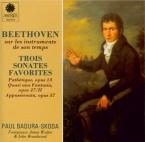 BEETHOVEN - Badura-Skoda - Sonate pour piano n°8 op.13 'Pathétique'
