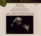 BRAHMS - Toscanini - Symphonies (intégrale)