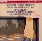SCHUBERT - Quartetto Itali - Quatuor à cordes n°14 en ré mineur D.810 'D