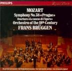 MOZART - Brüggen - Symphonie n°38 en ré majeur K.504 'Prague'
