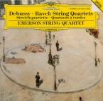 DEBUSSY - Emerson String - Quatuor à cordes op.10 L.85