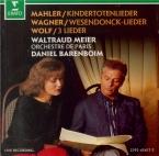 MAHLER - Meier - Kindertotenlieder (Chants pour des enfants morts), cycl