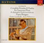 BACH - Brüggen - Partita pour flûte seule en la mineur BWV.1013