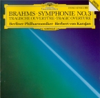 BRAHMS - Karajan - Symphonie n°3 pour orchestre en fa majeur op.90