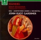 HAENDEL - Gardiner - Dixit Dominus (Psaume 110), psalm setting pour sopr