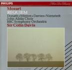 MOZART - Davis - Requiem pour solistes, choeur et orchestre en ré mineur