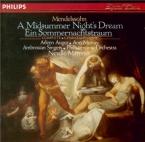 MENDELSSOHN-BARTHOLDY - Marriner - Ein Sommernachtstraum (Le songe d'une