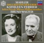 MAHLER - Ferrier - Das Lied von der Erde (Le chant de la terre), pour té