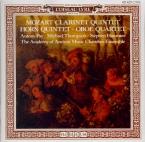 MOZART - Academy of Anci - Quintette pour clarinette et cordes en la maj