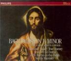 BACH - Marriner - Messe en si mineur, pour solistes, choeur et orchestre