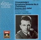 TCHAIKOVSKY - Cantelli - Symphonie n°6 en si mineur op.74 'Pathétique'