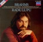 BRAHMS - Lupu - Sonate pour piano n°3 en fa mineur op.5