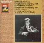 BRAHMS - Cantelli - Symphonie n°3 pour orchestre en fa majeur op.90