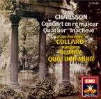 CHAUSSON - Collard - Concert pour piano, violon et quatuor à cordes op.2