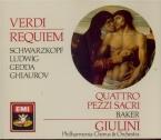 VERDI - Giulini - Messa da requiem, pour quatre voix solo, choeur, et orc