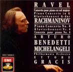 RACHMANINOV - Michelangeli - Concerto pour piano n°4 en sol mineur op.40