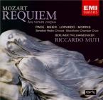 MOZART - Muti - Requiem pour solistes, choeur et orchestre en ré mineur K