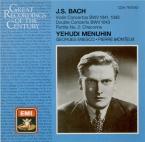 BACH - Menuhin - Concerto pour violon en la mineur BWV.1041