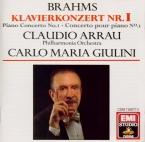 BRAHMS - Arrau - Concerto pour piano et orchestre n°1 en ré mineur op.15