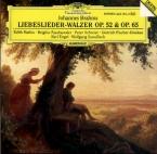 BRAHMS - Mathis - Achtzehn Liebeslieder-Walzer, dix-huit valses pour qua