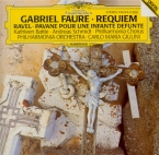FAURE - Giulini - Requiem pour voix, orgue et orchestre en ré mineur op