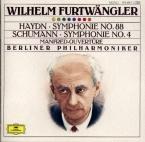 SCHUMANN - Furtwängler - Manfred (Byron) op.115 : ouverture pour orchest
