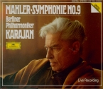 MAHLER - Karajan - Symphonie n°9 (live recording) live recording