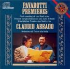 Premieres First recording of rare Verdi arias