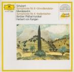SCHUBERT - Karajan - Symphonie n°8 en si mineur D.759 'Inachevée'
