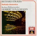 STRAUSS - Karajan - Symphonia domestica, pour grand orchestre op.53