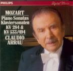 MOZART - Arrau - Sonate pour piano n°6 en ré majeur K.284 (K6.205b) 'Dür