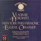 RACHMANINOV - Horowitz - Concerto pour piano n°3 en ré mineur op.30
