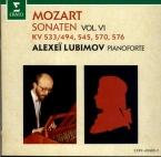 MOZART - Lubimov - Sonate pour piano n°18 en fa majeur K.533