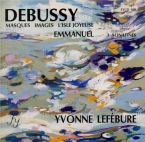 DEBUSSY - Lefébure - Images I, pour piano L.110