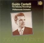 DEBUSSY - Cantelli - Nocturnes pour orchestre : extraits