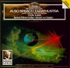STRAUSS - Karajan - Also sprach Zarathustra, poème symphonique pour gran