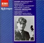 PAGANINI - Monteux - Concerto pour violon n°1 en ré majeur op.6 M.S.21