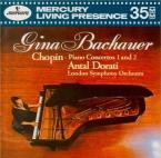 CHOPIN - Bachauer - Concerto pour piano et orchestre n°1 en mi mineur op