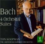 BACH - Koopman - Quatre suites pour orchestre BWV 1066-1069