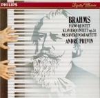 BRAHMS - Previn - Quintette avec piano en fa mineur op.34