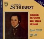 Oeuvre pour violon et piano