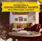 STRAUSS - Maazel - Symphonia domestica, pour grand orchestre op.53