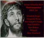 BACH - Weisbach - Passion selon St Matthieu(Matthäus-Passion), pour sol
