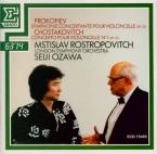 PROKOFIEV - Rostropovich - Sinfonia concertante pour violoncelle et orch